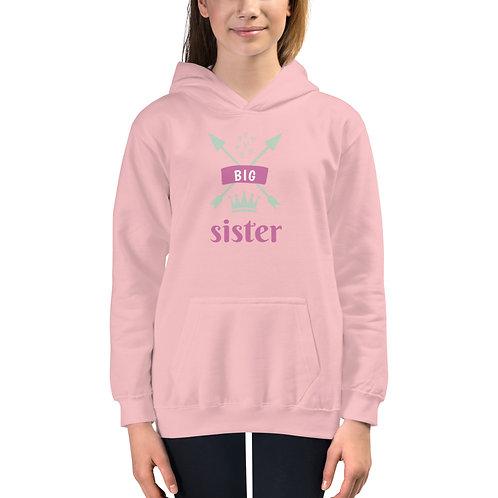 """""""Big Sister"""" Kids Hoodie"""