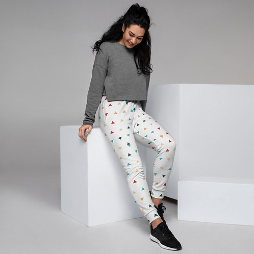 Triangle Pattern Women's Joggers