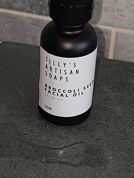 Broccoli face oil