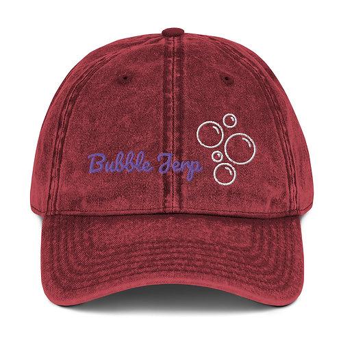Bubble Jerp Original Vintage Cotton Twill Cap