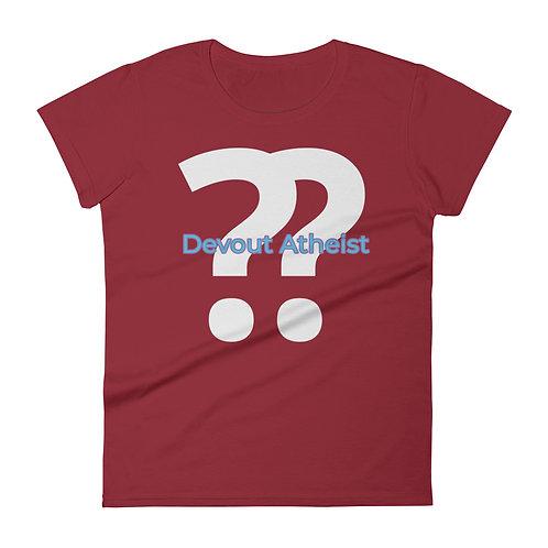 Devout Atheist Women's short sleeve t-shirt
