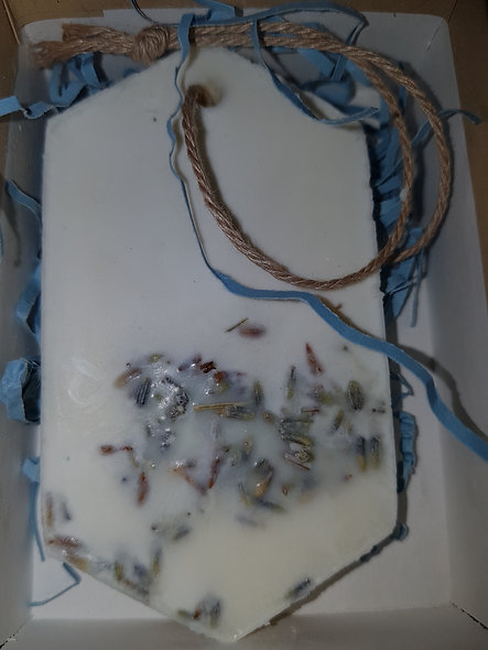 May Chang, lavender and Patchouli  Wax Tablet