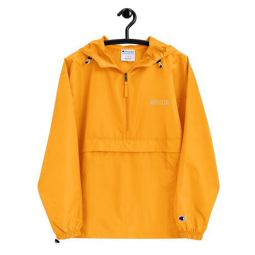 ANTISOCIAL Embroidered Champion Packable Jacket