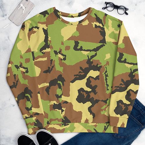 Camouflage Unisex Sweatshirt