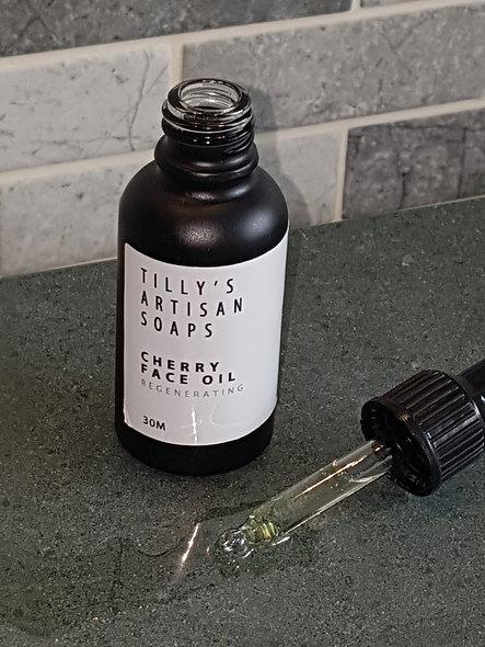 Cherry facial oil