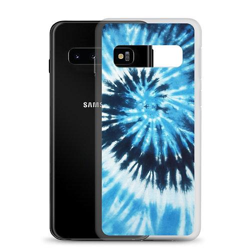 Blue Tie-dye Samsung Case