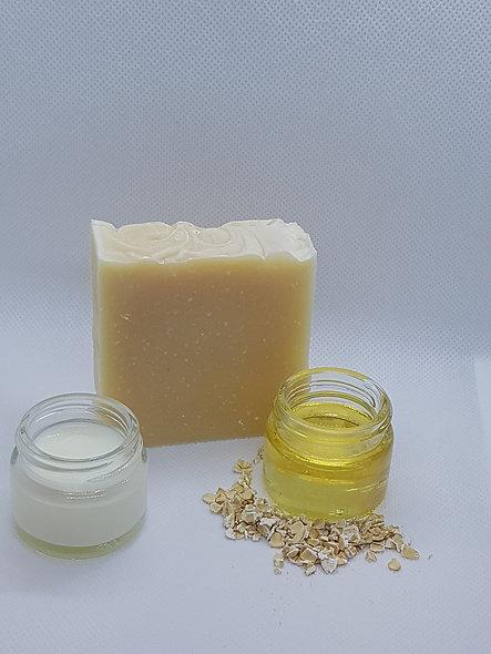 Sheep's milk honey and oats (100g)