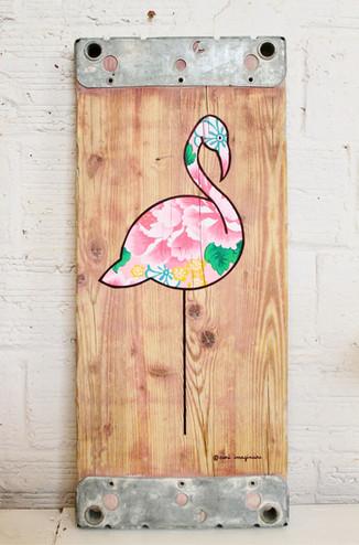 Flamingo Ikebana - VENDU/SOLD