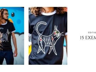 T-shirts édition limitée VANGART x © ami imaginaire