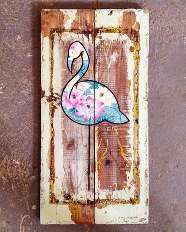 Flamingo Zen - VENDU/SOLD