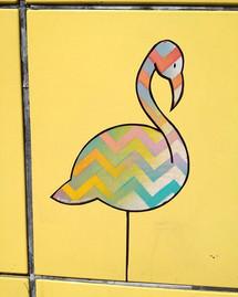 Flamingo estival, Paris, Juillet 2018