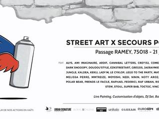 Streetart x Secours Pop 2K19