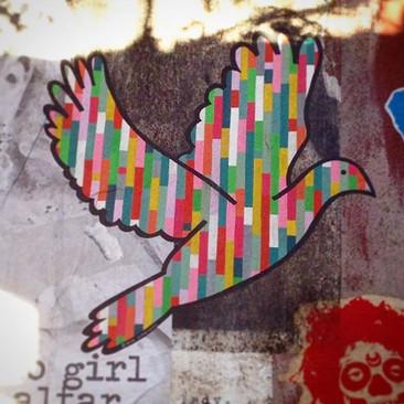 Lego Peace Dove