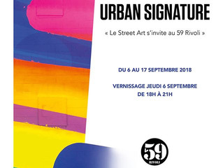 Expo Urban Signature au 59Rivoli