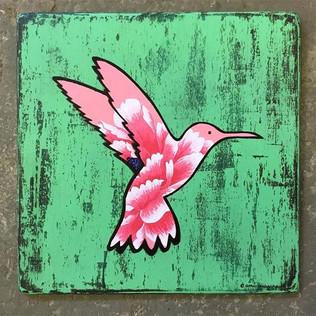 Little Floral hummingbird - VENDU/SOLD