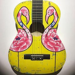 Flamenco Flamingos - VENDU/SOLD