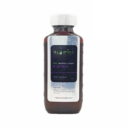 THC Infused Syrup - Grape