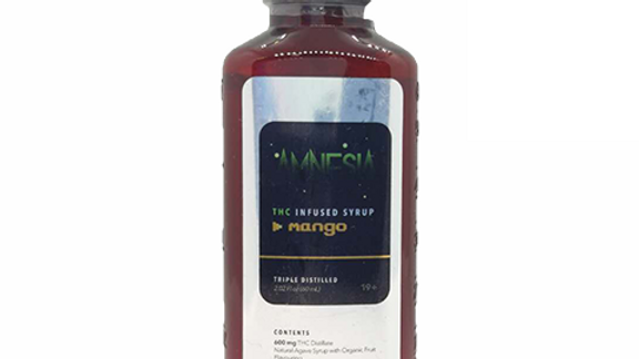 THC Infused Syrup - Mango
