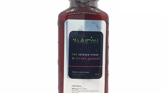 THC Infused Syrup - Fruit Punch