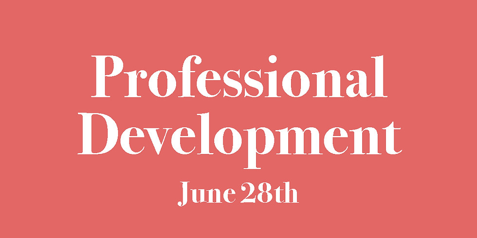Professional Development with Amanda Netraur