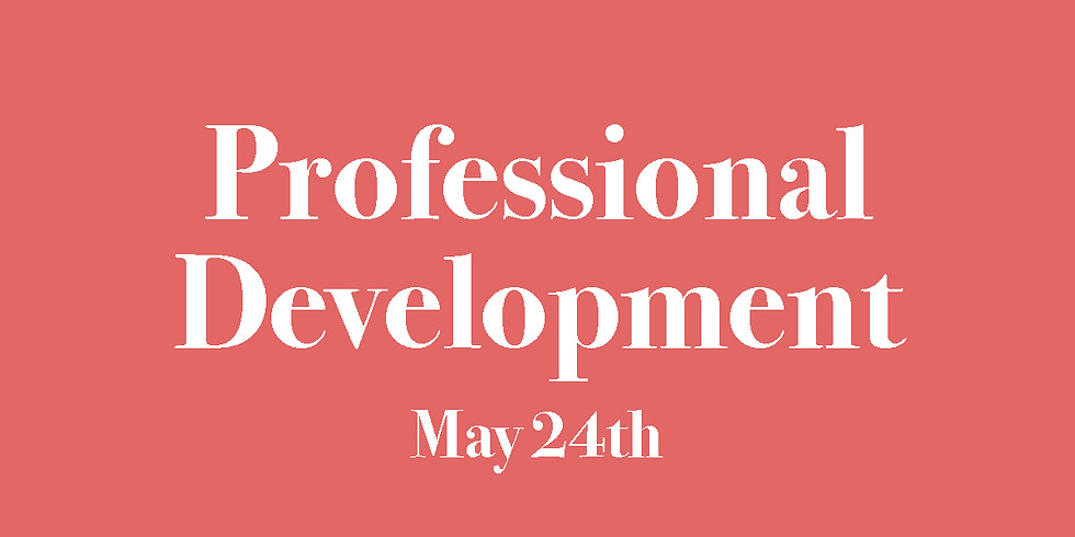 Professional Development with Dr. Shannon Gregg, Ph.D