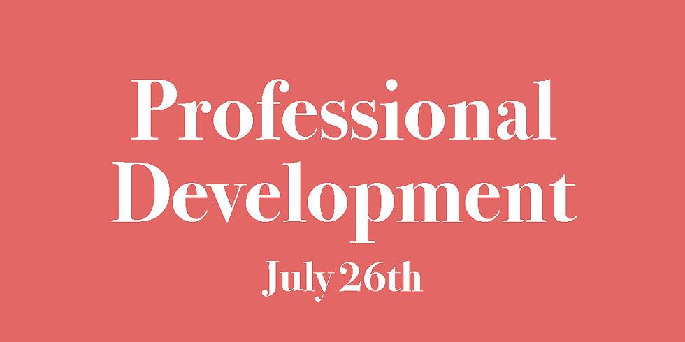 Professional Development with Dr. Geri Puleo