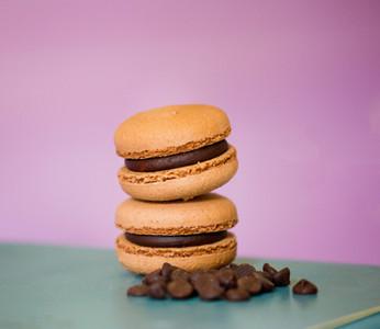 Macarons de ciocolata-13lei/50gr