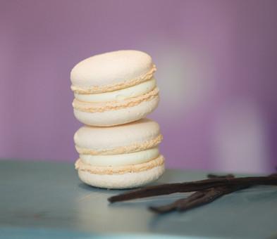 Macarons de vanilie-13lei/50gr