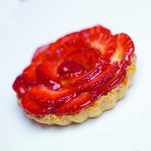 Tarta cu fructe- 12.5 lei /150gr
