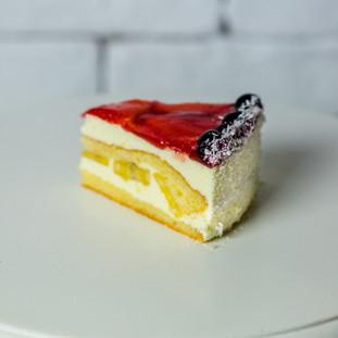 Tort de fructe- 15.5lei/140gr