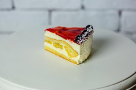 Tort de fructe- 14.5lei/140gr