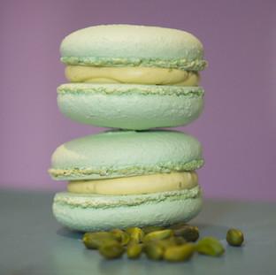Macarons cu fistic-13.5lei/50gr