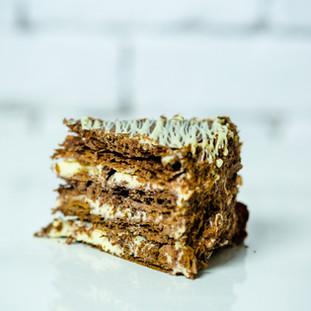 Millefeuille cu Ciocolata- 14.5 lei/135gr