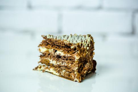 Millefeuille cu Ciocolata- 13.5 lei/135gr