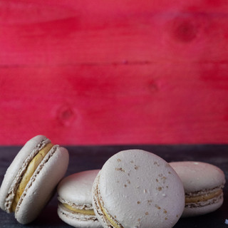 Macaron cu caramel sarat -13.5lei/50gr