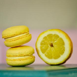 Macarons cu lamaie- 13.5lei/50gr