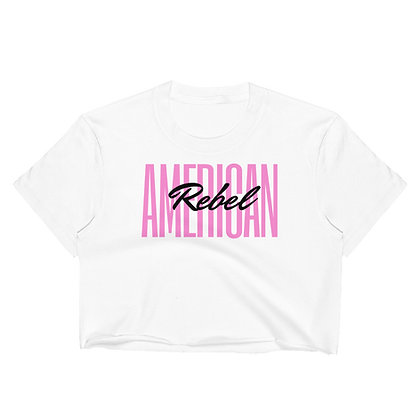 """American Rebel"" Crop Top"