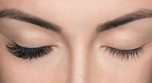 Eyelash removal procedure close up. Beau