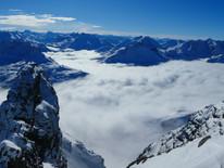 Aktuelle Schneelage am Arlberg