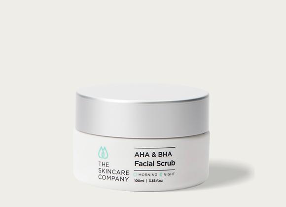 The Skincare Company AHA/BHA Facial Scrub
