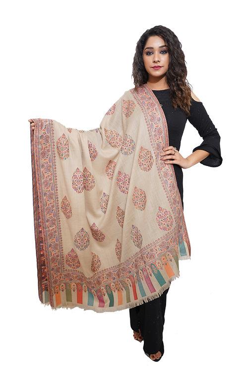 Women  Carpet Kaani Kashmiri Shawl, Pashmina, Luxury  Shawl / Wrap