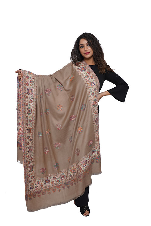 Women  Kani Daur Buti, Kashmiri,Pashmina, Luxury  Shawl /  Wrap