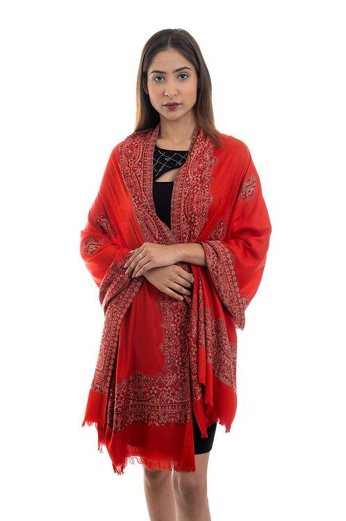 Women's Designer Paisley Pattern, Soft Woven Stole