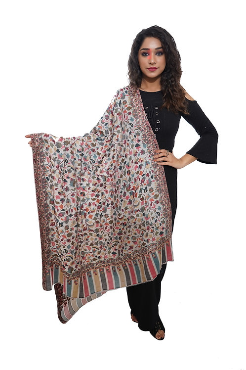 Women  Kaani Jaal Shawl, Pashmina, Luxury  Shawl / Wrap