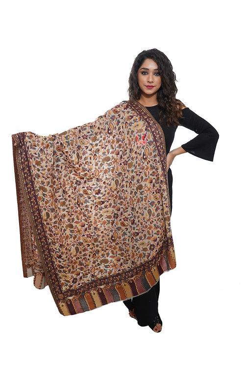 Women  Kaani Jaal Shawl, Pashmina, Luxury  Shawl / Wrap