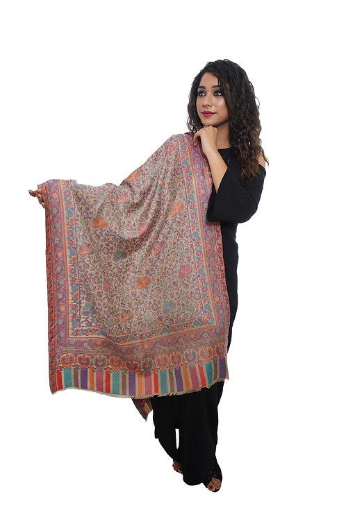 Women  Kaani Jaal Stole, Pashmina, Luxury  Stole