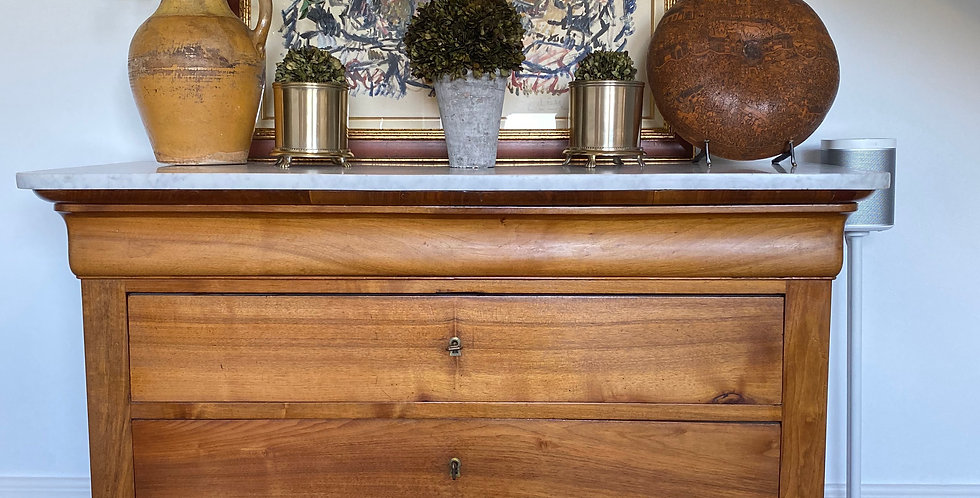 Chest of Drawers with a Marble top