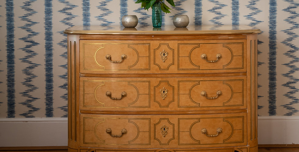 French Fruit Wood Chest of Drawers