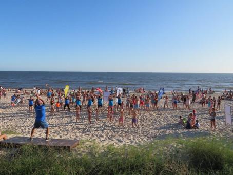 Segunda jornada de festejos en la playa