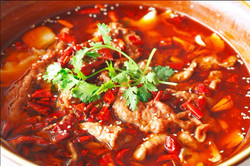 香辣水煮牛肉 Famous Spicy Boiled Fish
